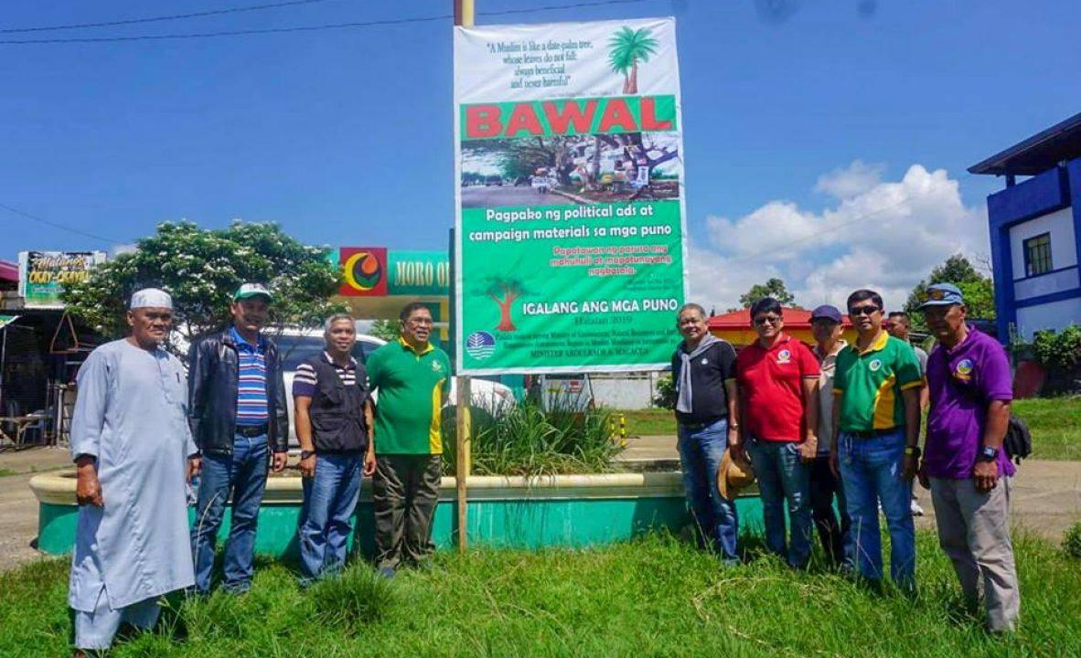 MENRE implements 'Oplan Baklas' campaign B
