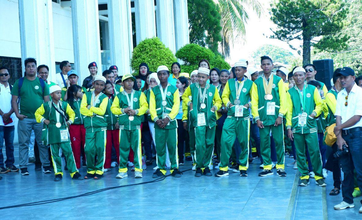 BARMM awards monetary gifts to Bangsamoro athletes C