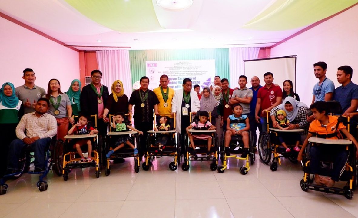 Distribution of customized wheelchairs A