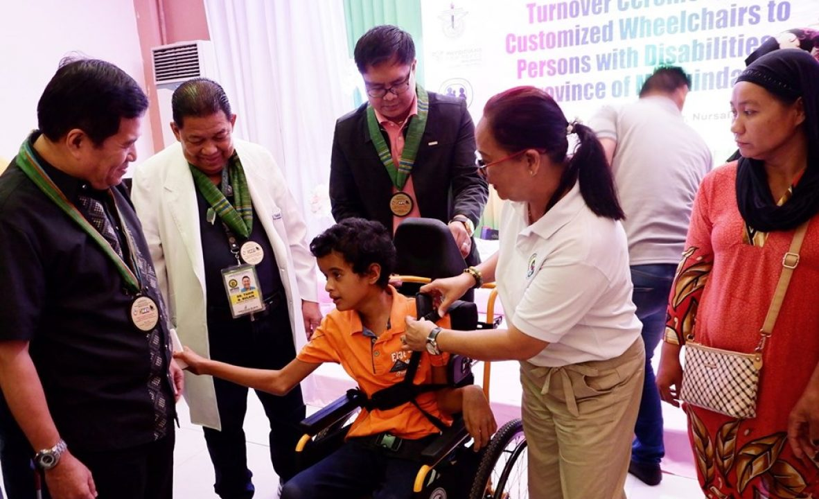 Distribution of customized wheelchairs B