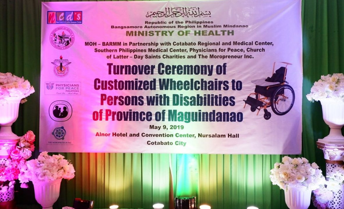 Distribution of customized wheelchairs G