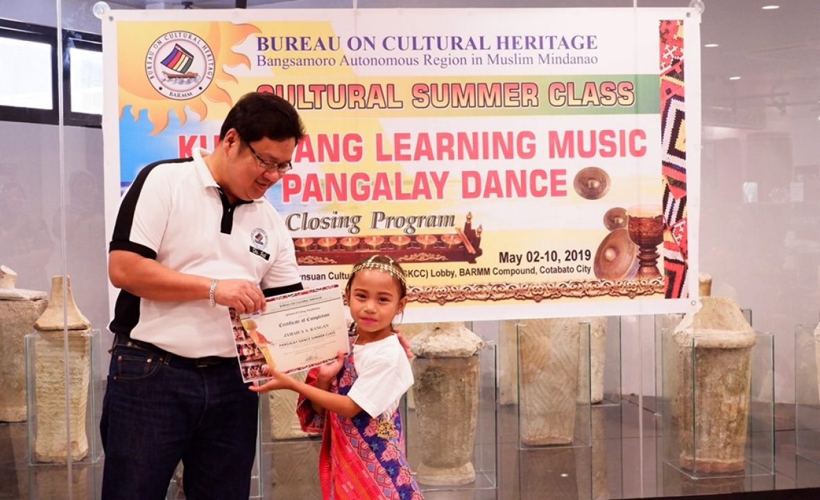 Students graduate from BCH-BARMM's cultural summer class 3