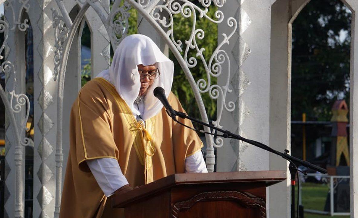 Eidl Fit'r 2019 Congregational prayer 2