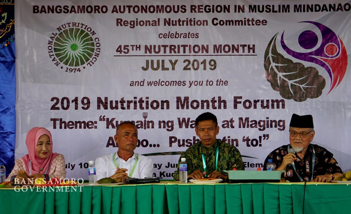MOH-BARMM conducts forum on Nutrition 4