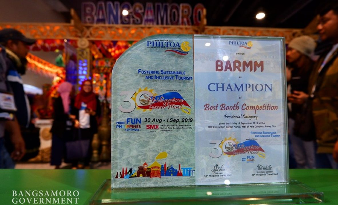 BARMM wins in the 30th Philippine Travel Mart Competition 1