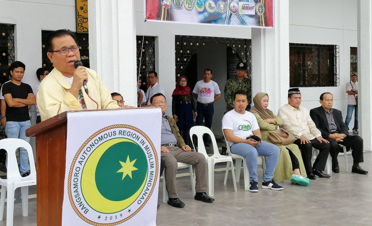 Bangsamoro Government launches Project Tabang 1