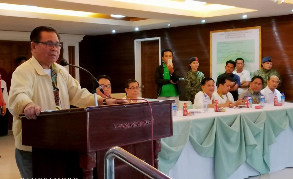 Bangsamoro Government launches Project Tabang 8