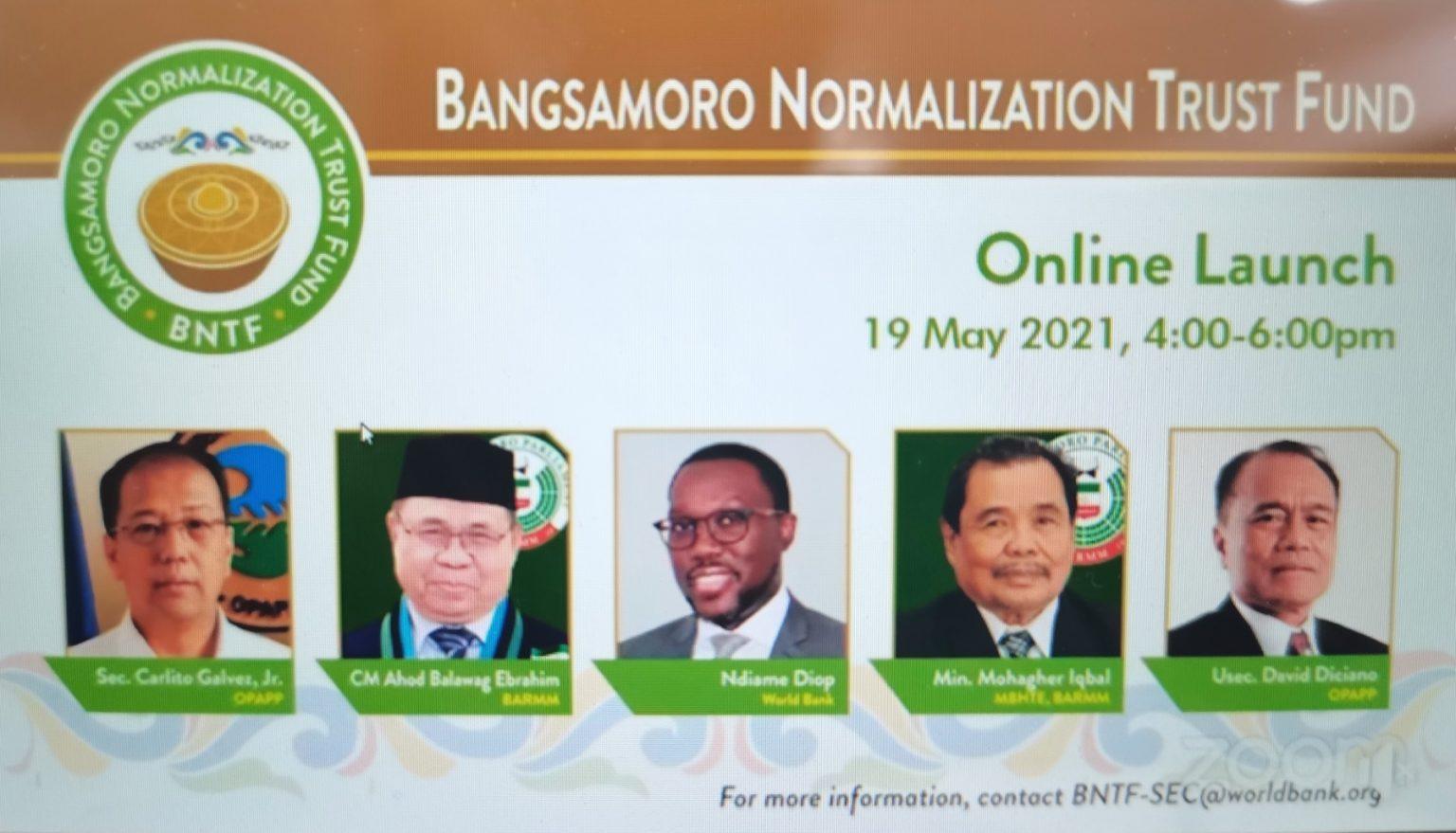 GPH-MILF, World Bank officially launch Bangsamoro